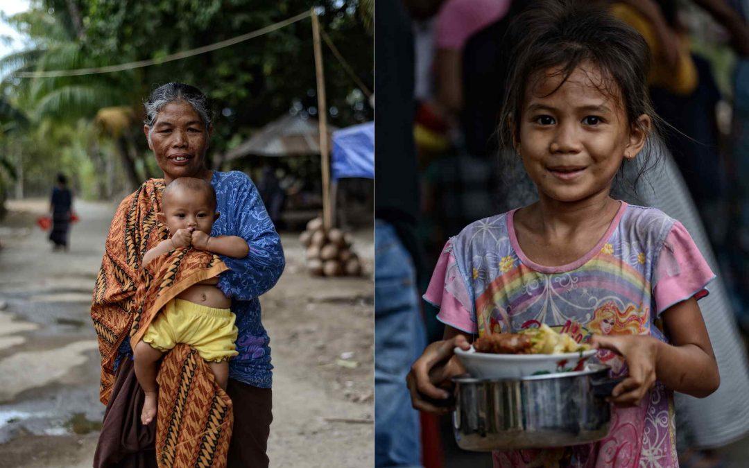 KarolaTakesPhotos on Lombok after earthquake 2018